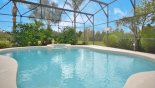 Large pool & spa with south west conservation views from Highlands Reserve rental Villa direct from owner