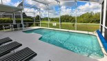 Spacious rental Highlands Reserve Villa in Orlando complete with stunning Sunny south-west facing pool  with amazing conservation views