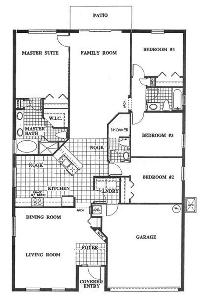 Silver Maple + 4 Floorplan