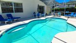 Villa rentals near Disney direct with owner, check out the Sunny pool deck gets sun for most of the day