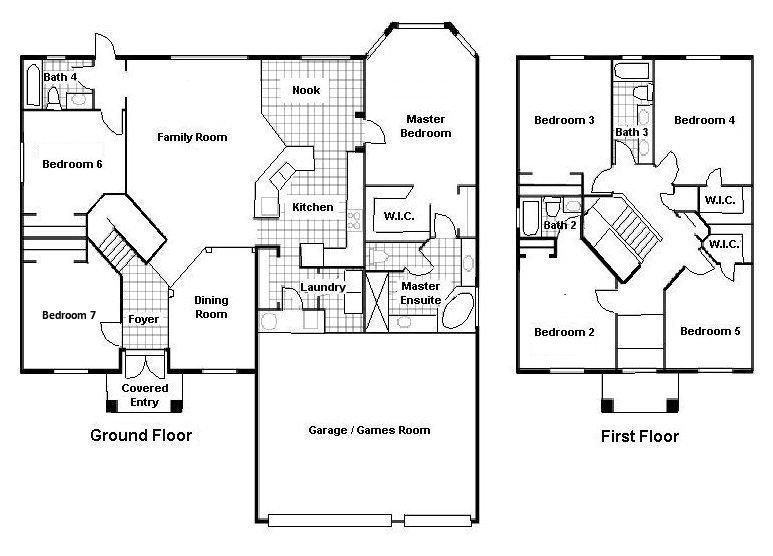 Santa Maria + 2 Floorplan