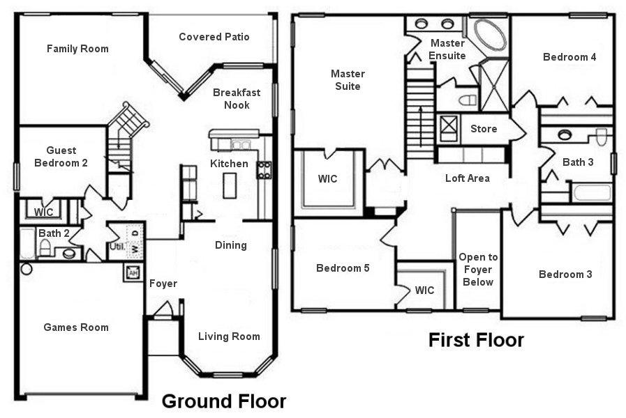 Canterbury 6 Floorplan