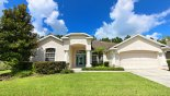 View of villa from street - www.iwantavilla.com is the best in Orlando vacation Villa rentals