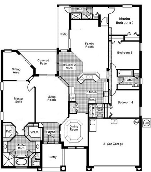 Cambridge 2 Floorplan