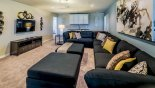 Orlando Villa for rent direct from owner, check out the TV lounger with 60