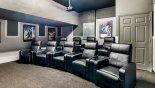 Home cinema for you to enjoy a movie in style. from Baymont 1 Villa for rent in Orlando
