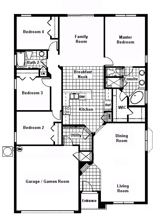 Cape San Blas 9 Floorplan