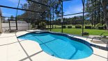 Newton 3 Villa rental near Disney with Pool & spa with views onto golf course and 3 sun loungers
