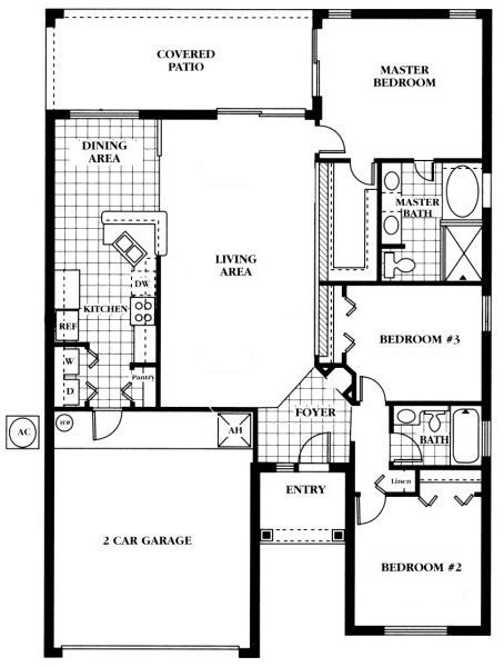 Newton 3 Floorplan