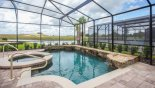 Spacious rental Solterra Resort Villa in Orlando complete with stunning Great open views from pool deck