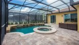 Large pool deck from Solterra Resort rental Villa direct from owner