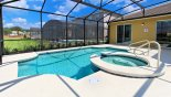 Spacious rental Solterra Resort Villa in Orlando complete with stunning View of pool & spa