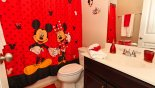Villa rentals in Orlando, check out the Bathroom 4