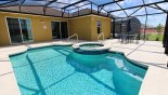 Spacious rental Solterra Resort Villa in Orlando complete with stunning Large pool & spa