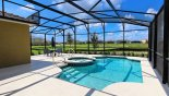 Pool deck with open views from Solterra Resort rental Villa direct from owner