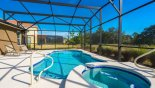 Pool deck with 2 sun loungers from Solterra Resort rental Villa direct from owner