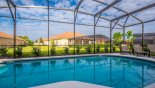 Villa rentals in Orlando, check out the View of pool (photograph taken first thing in the morning - hence shade)