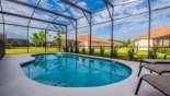 Villa rentals near Disney direct with owner, check out the North west facing pool - left of pool faces south west
