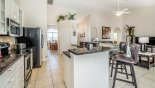 Emerald + 10 Villa rental near Disney with Breakfast bar with 2 bar stools - ideal for informal meals