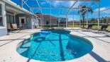 Large pool deck is bathed in sun all day - www.iwantavilla.com is your first choice of Villa rentals in Orlando direct with owner
