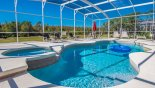 Spacious rental Highlands Reserve Villa in Orlando complete with stunning Pool & spa with 7 sun loungers