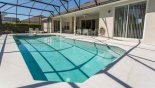 Orlando Villa for rent direct from owner, check out the View of pool towards covered lanai