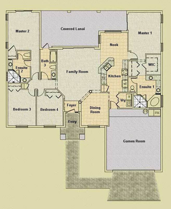 Charleston 1 Floorplan