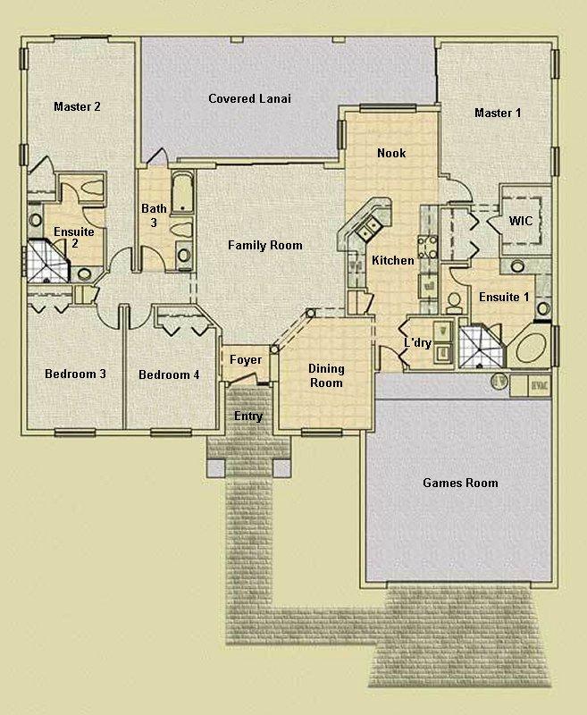 Charleston 1 Floorplan