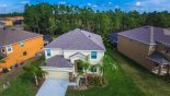 Aerial view of our villa with this Orlando Villa for rent direct from owner