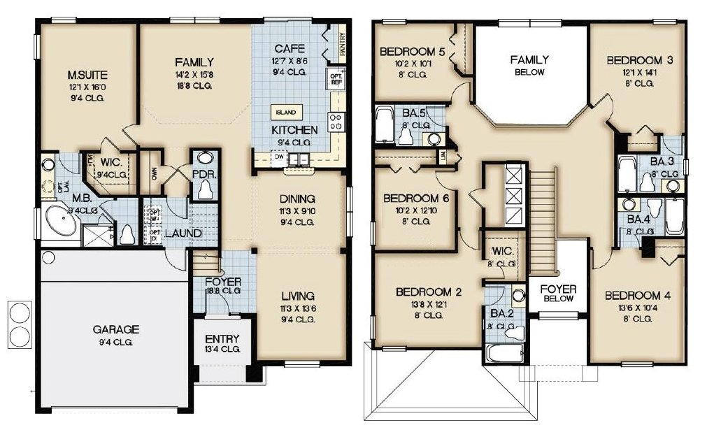 Queen Palm 8 Floorplan
