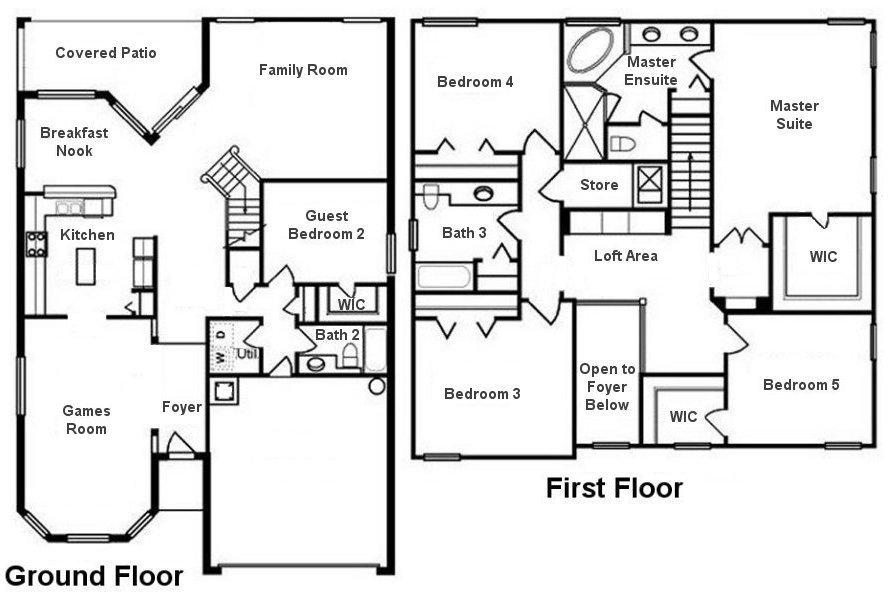 Canterbury 14 Floorplan