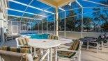 Santa Barbara 6 Villa rental near Disney with Covered lanai with patio table & 4 chairs