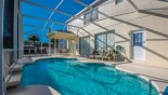 Villa rentals near Disney direct with owner, check out the Pool deck with 8 sun loungers