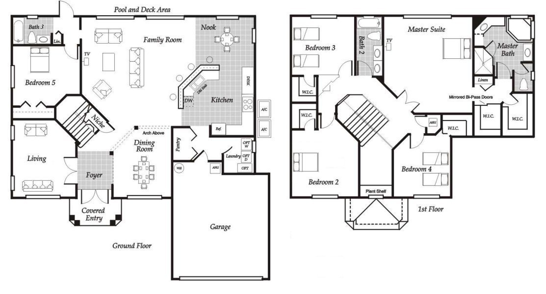 Santa Barbara 6 Floorplan