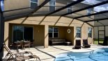 Villa rentals in Orlando, check out the Extended pool and deck