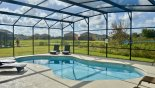Great views from the pool deck - www.iwantavilla.com is your first choice of Villa rentals in Orlando direct with owner