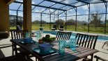 Al fresco dining - www.iwantavilla.com is the best in Orlando vacation Villa rentals