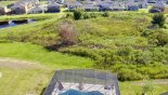 Aerial view of the conservation area from Providence rental Villa direct from owner