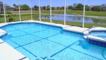 Villa rentals in Orlando, check out the Sunny lake front pool & spa