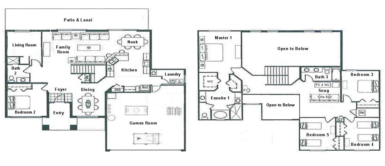 Longboat Key 6 Floorplan