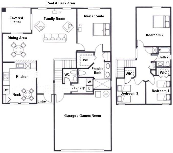 Sandlewood 1 Floorplan