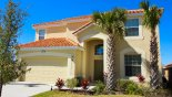 Spacious rental Aviana Resort Villa in Orlando complete with stunning View of villa from street