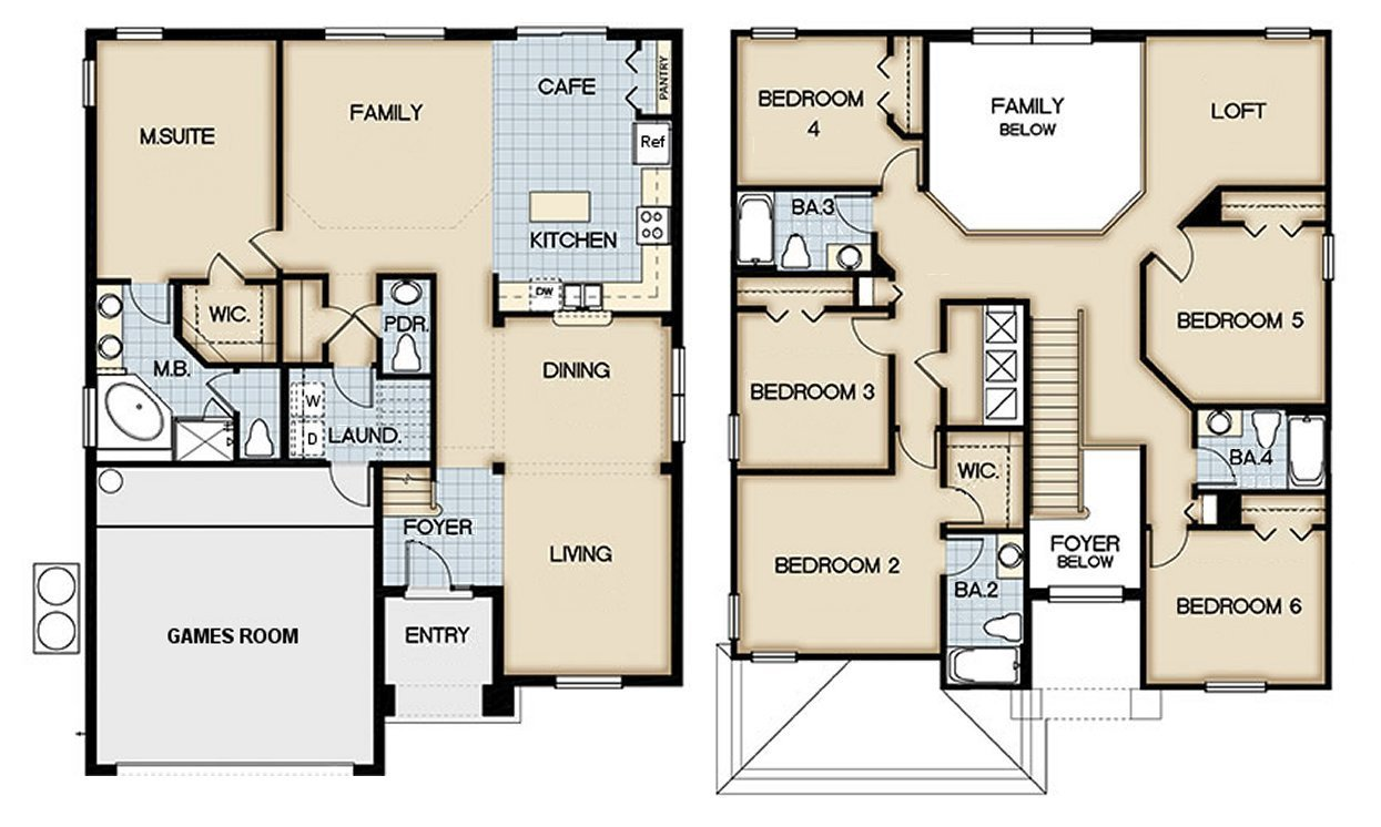 Queen Palm 9 Floorplan
