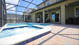 Spacious rental Champions Gate Villa in Orlando complete with stunning Bubbling spa invites you....
