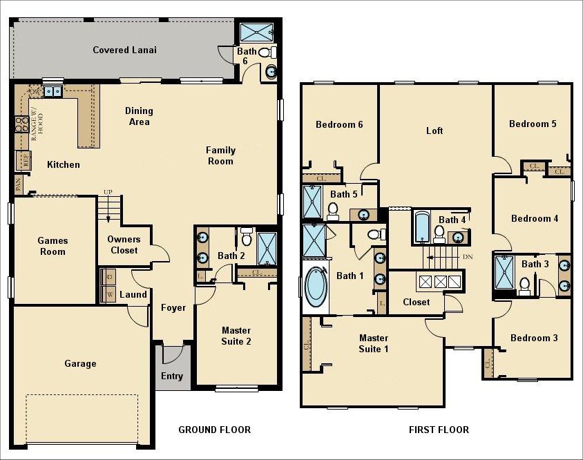 Fiji 1 Floorplan