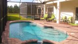 South facing pool & spa with this Orlando Villa for rent direct from owner