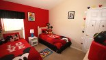 Mickey bedroom 4 with this Orlando Villa for rent direct from owner