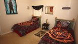 Villa rentals in Orlando, check out the Harry Potter bedroom 5