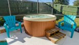 Orlando Villa for rent direct from owner, check out the Standalone bubbling spa for your enjoyment