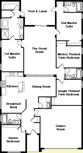 Magnolia Tree 1 Floorplan